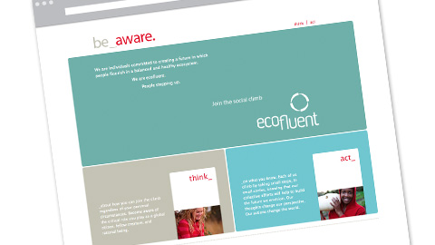 Ecofluent Homepage